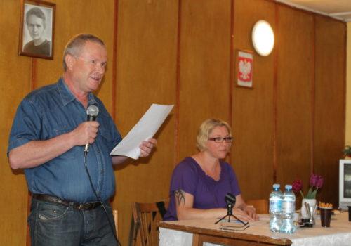 Pan Andrzej – przewodniczący zebrania